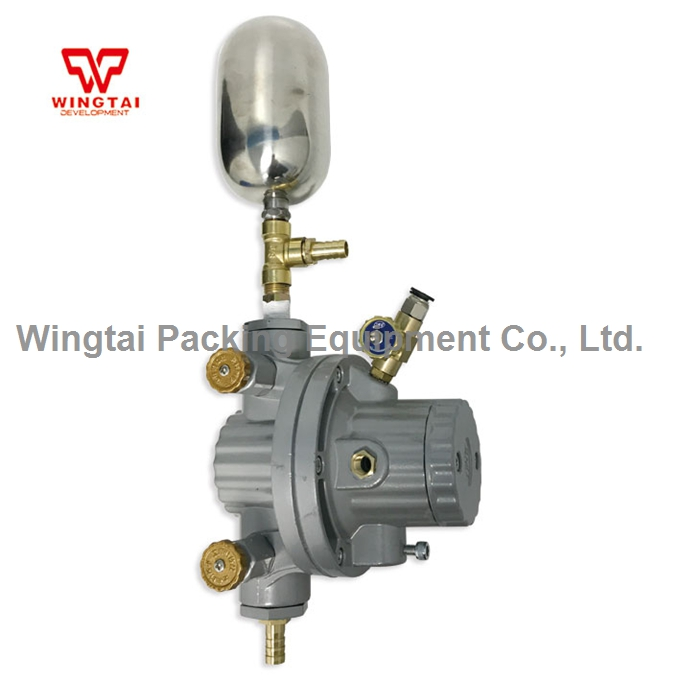 6.66mm PTFE One Way Pneumatic Ink Circulation Pump With Buffer Tank BML-5C ink and solvent circulation  pneumatic