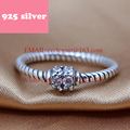 PJR014 FreeShipping 925 silver ring . ring with stone charmming jewelry. Latest Fashion Trendy Design rings for woman