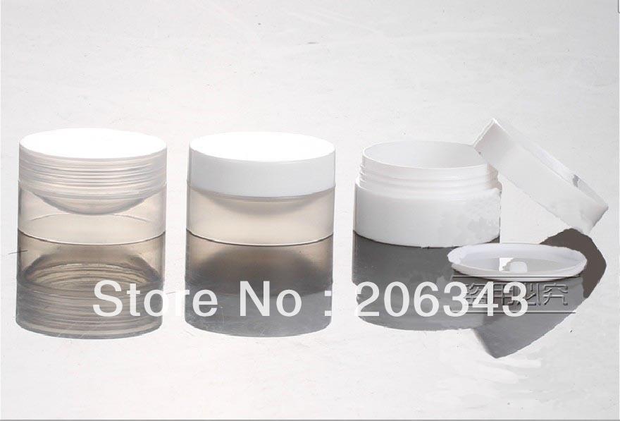 ⓪10G 3 colores crema, envase cosmético, contenedor de sombra ...