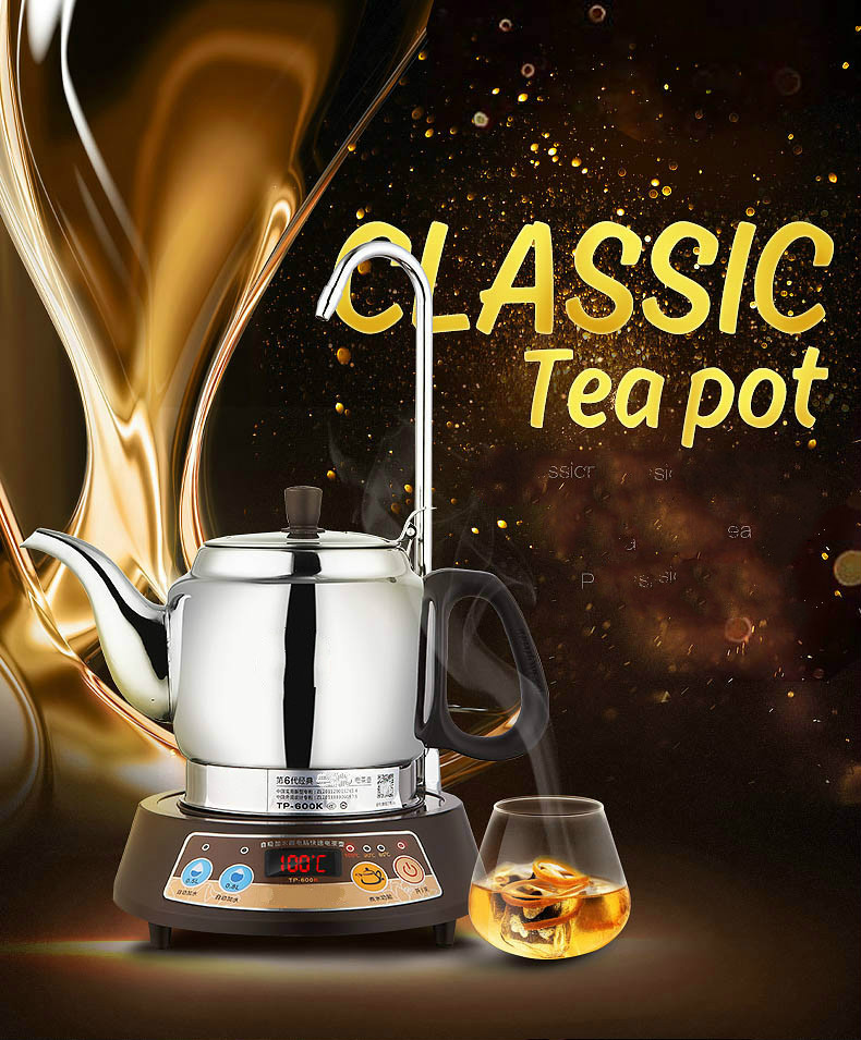 classic instant automatic upper water electric kettle tea set Overheat Protection mini otg cable usb otg adapter micro usb to usb converter for tablet pc android samsung xiaomi htc sony lg