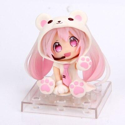Аниме фигурка Хацуне Мику Розовый Мишка 1