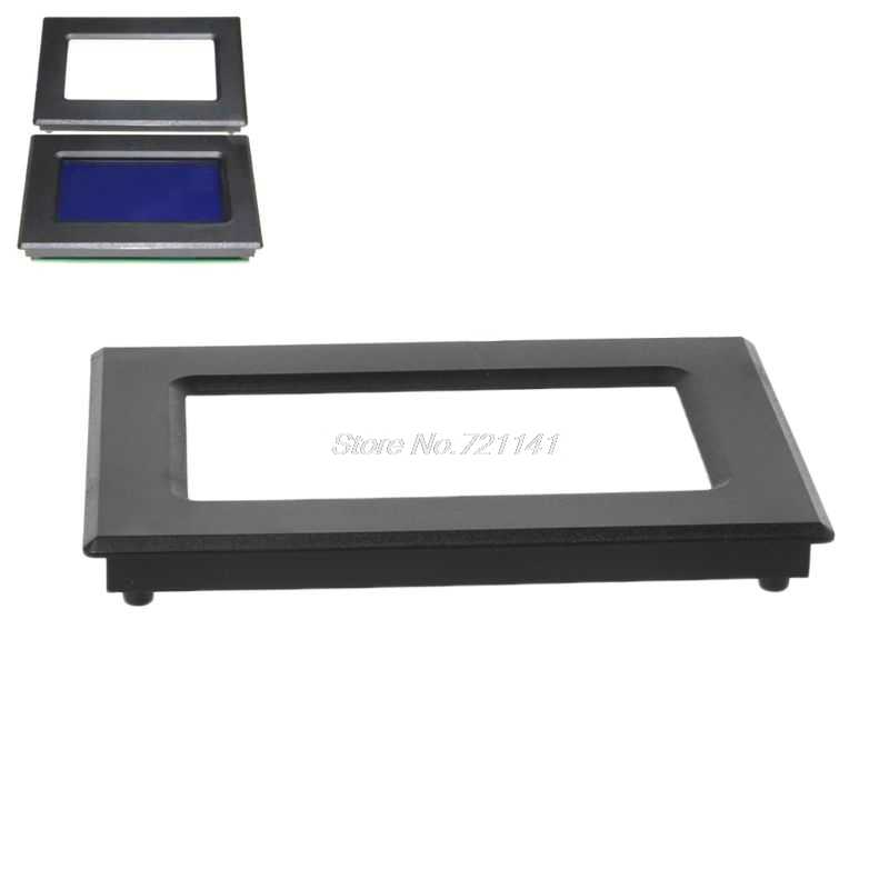 12864 liquid crystal display shell instrument ABS flame retardant plastic outer frame instrument case LCD screen casing