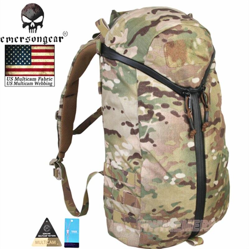 EmersonGear Y ZIP City Assault paquete de viaje multiusos Molle bolso de hombro EM9323 genuino Multicam