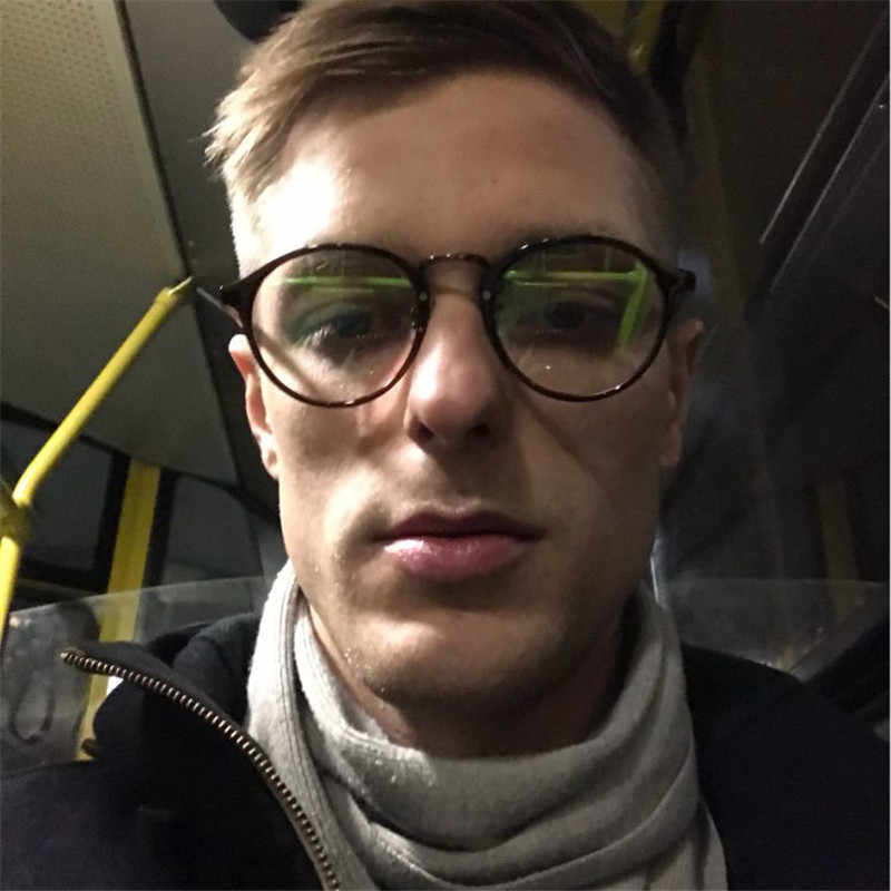 fb7c6ce58e8 ... Fashion Transparent round glasses clear frame Women Spectacle myopia  glasses Men EyeGlasses Frame nerd optical frames ...