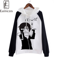 Anime Noragami Yato Cosplay Party Costume Thick Warm Hooded Coat Casual Hoodies Sweatshirts