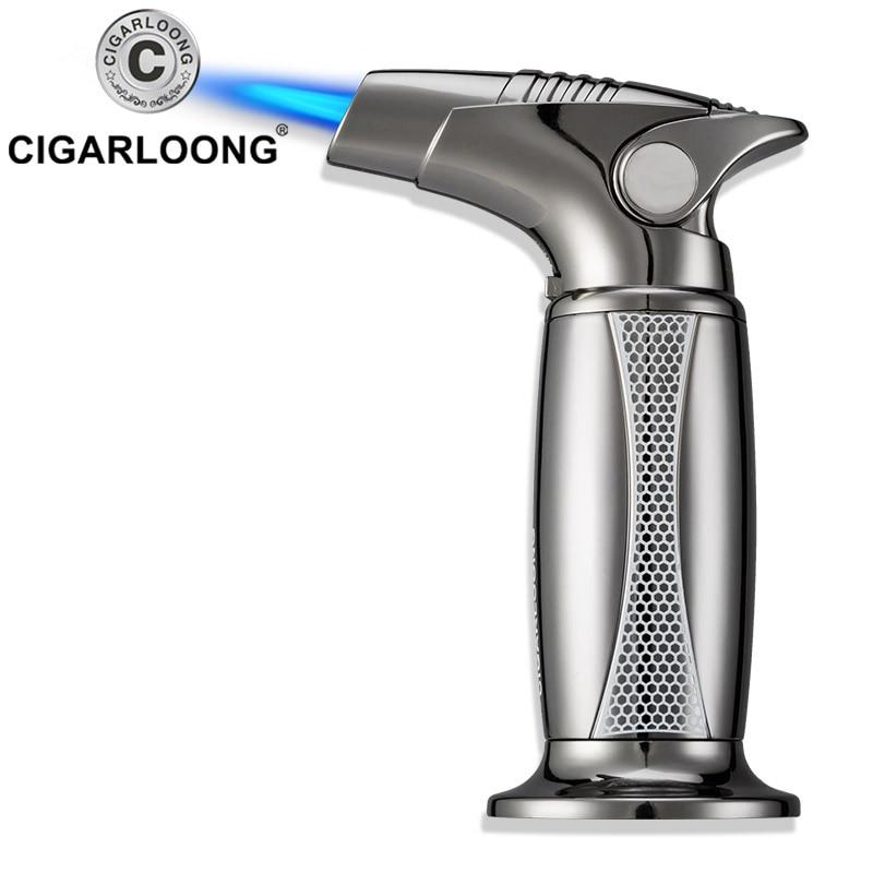 cigar lighter straight windproof large desktop lighter cigar electronic cigarette lighter LL-3049