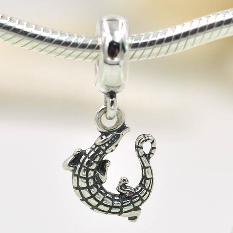 2015 new fits pandora charms bracelet original 925 sterling silver 2015 new fits pandora charms bracelet original 925 sterling silver charms crocodile alligator charm pendant diy jewelry making in charms from jewelry aloadofball Image collections