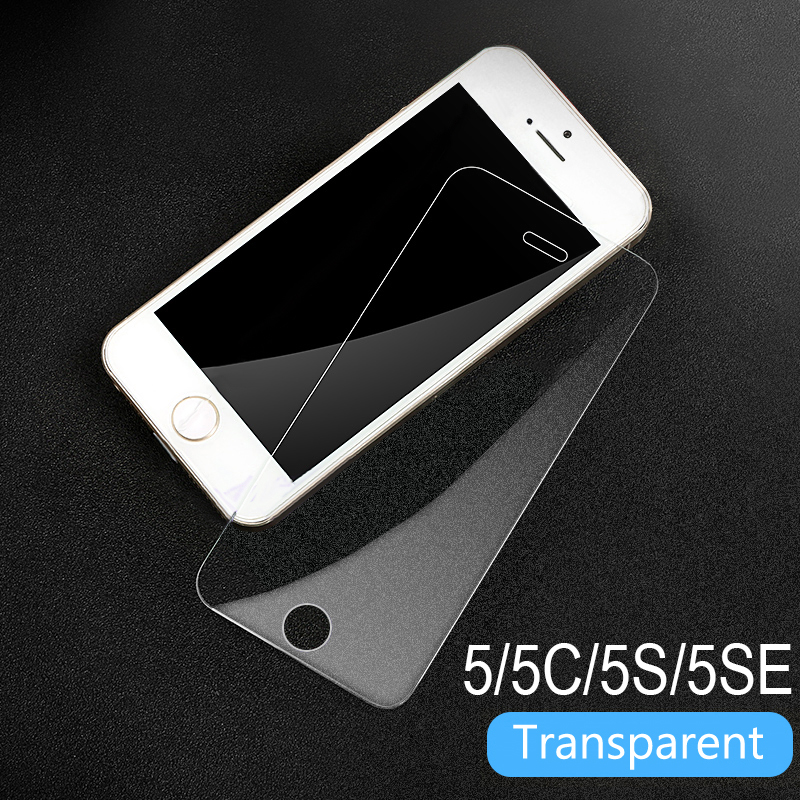 Tempered Glass On The For Apple iPhone 5S 5 SE Screen Protector 9H Anti Blue Light Protective Film Glass For iPhone 5 SE 5C
