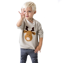 Yejia Autumn Kids Boy T Shirt Long Sleeve Character Print Casual Pullovers Chldren T-shirt Cotton Thicken Boys Clothes