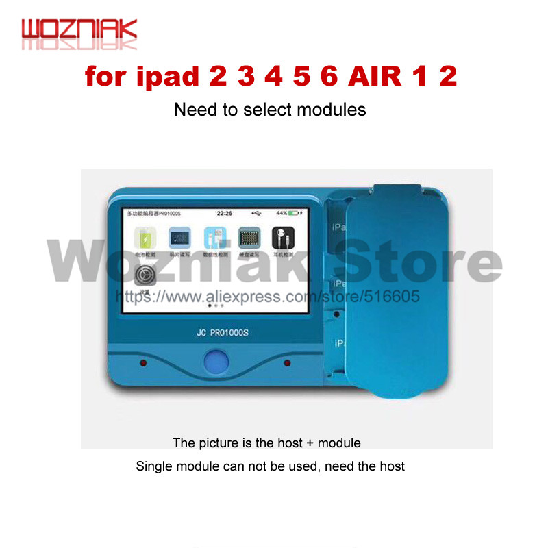 JC Pro1000S Multi Functional NAND Chip Programmer For iCloud Repair Non Removal Read Write Adapter for iPad 2 3 4 5 6 AIR 1 2-in Power Tool Sets from Tools    1