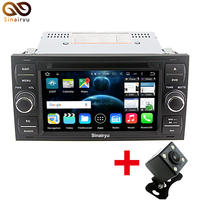 Android 6 0 Octa 8 Core 1024X600 2DIN Car DVD GPS Stereo Head Unit For Ford