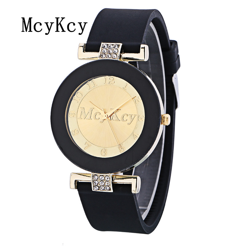 New Fashion Famous Mcykcy Brand Casual Quartz Watch Women Silicone Jelly Watches Sports Relogio Feminino Ladies Clock Hot Sale mance n2 new hot sale fashion casual retro style designer quartz watch denim quartz watches relogio feminino quality gift
