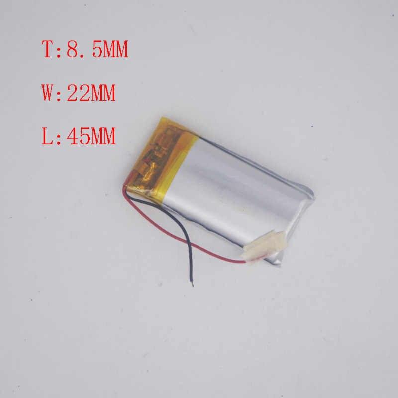 3.7 V Batteria Al Litio Polimeri di 902545/852245MP3 Piccolo Giocattolo Registratore Core 800 MAH