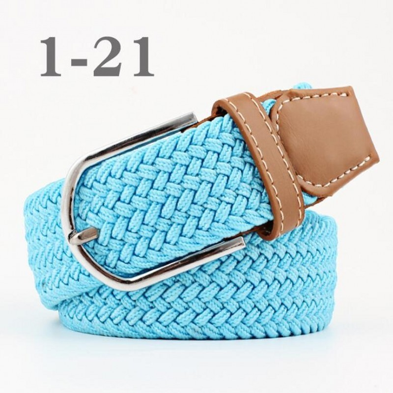 Canvas Belts Decoration Girdle Female Pin Buckle Strap