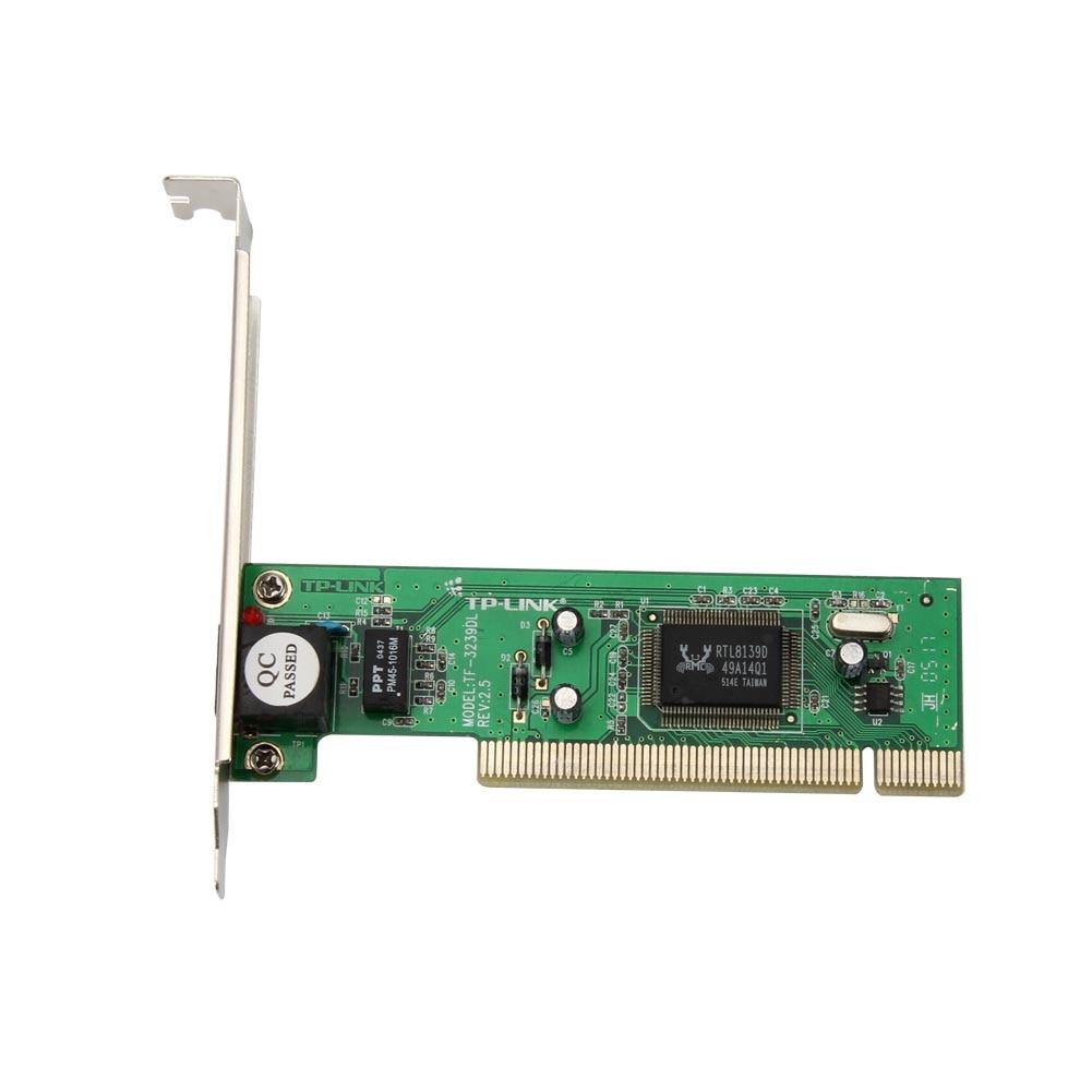 TF-3239DL 10/100 Мбит/с 20/200 Мбит/с RJ45 Адаптивная PCI Внутренний проводной сетевой карты сетевой адаптер светодиодный индикатор для рабочего стола xXM