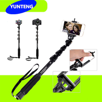 Yunteng 188 Handheld Telescopic Monopod For All Nikon D7100 D90 D3100 D5100 Canon 6D 70D 60D