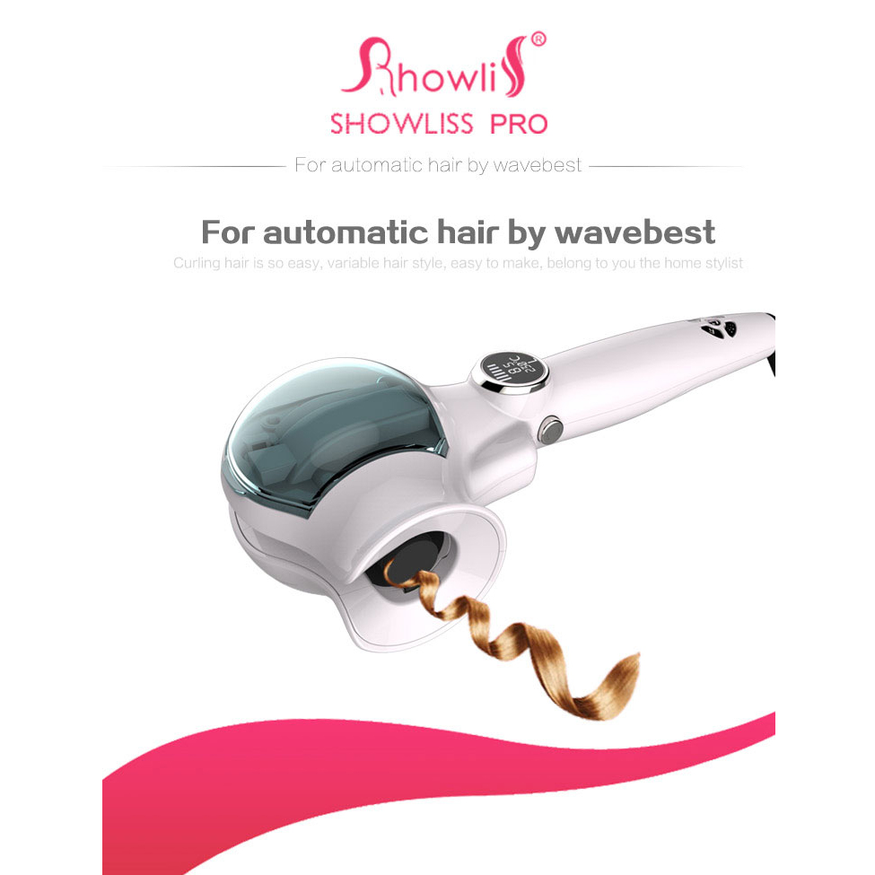 Hot Fashion Showliss Pro steam Hair Curler Hair dryer LED hair curler Styler automatic Curling Iron Universal Voltage эпилятор epilator showliss