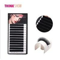 4 Trays Lot All Size Eyelashes Extension Korean Silk Volume 3D Eye Lashes Extension Natural Individual