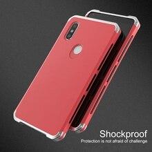 Противоударный металлический чехол для телефона для Xiaomi Redmi Note 6 Pro алюминиевая рамка Бампер Жесткий ПК задняя крышка для Xiaomi Redmi Note 5 6 Pro