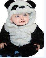 Новый детская одежда дети Животных Комбинезон Дети зима одежда панда пальто