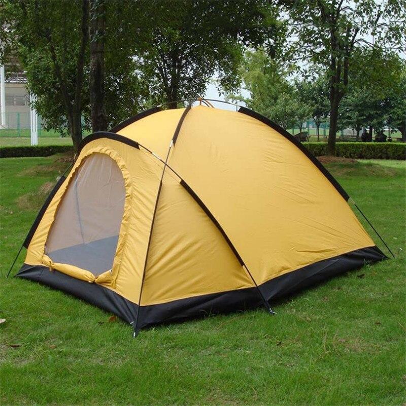 Waterproof Tent Outdoor Single UV Tent Beach Outdoor 1-2 Persons Camping Tent outdoor camping tent 3 4 beach tent camping tent single summer mosquito children play tent