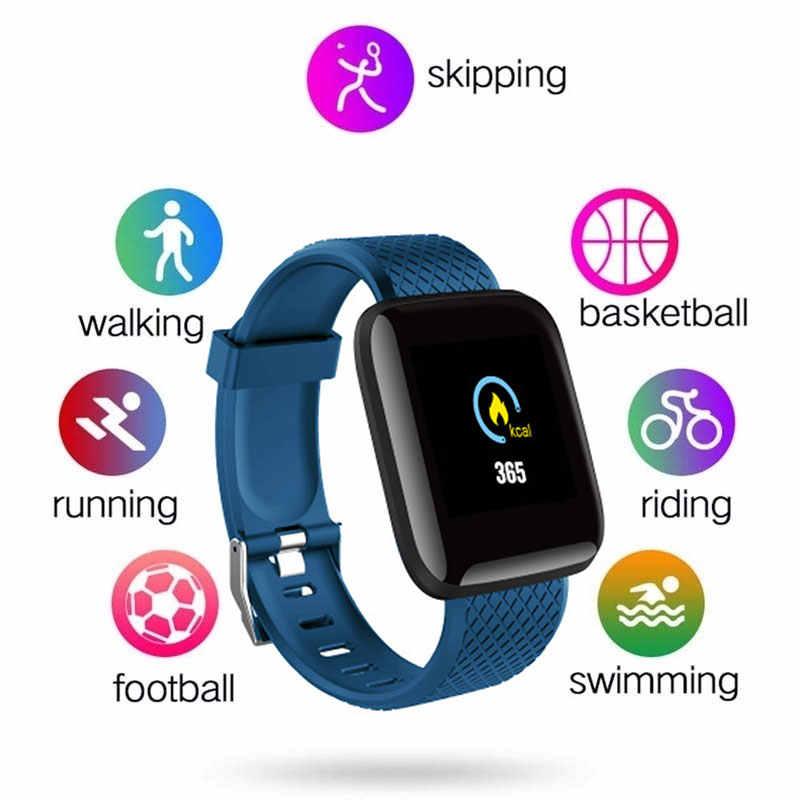 Cewaal D13 ساعة ذكية الرجال النساء ل أندرويد هاتف Apple مقاوم للماء معدل ضربات القلب المقتفي ضغط الدم الأكسجين الرياضة Smartwatch