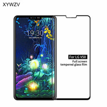 Full Glue Cover Glass For LG V50 Scratch Proof Screen Protector Tempered Phone Film