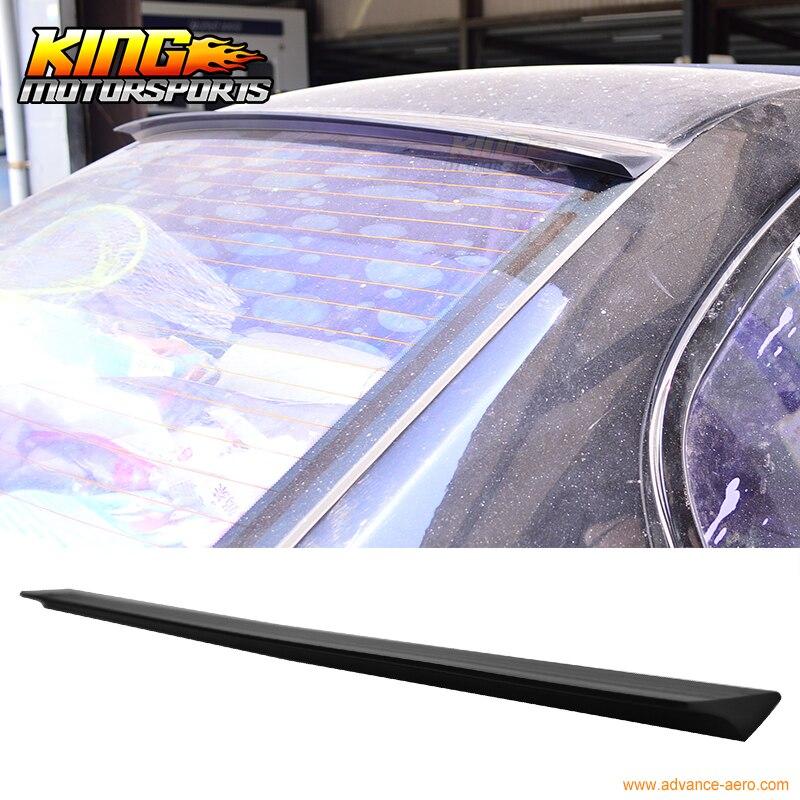 For 2015-2016 Subaru WRX STI 4Dr VRS Unpainted Rear Roof Spoiler Wing Visor - PUF for 2002 2003 2004 2005 2006 2007 subaru impreza wrx sti roof spoiler wing carbon fiber cf