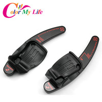 Steering Wheel Aluminum Shift Paddles Car Sticker For Volkswagen VW Golf 6 MK6 GTI Jetta MK5