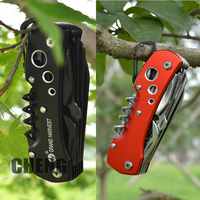 Swiss 91mm Folding Knife Multifunctional Multi Tool Army Pocket Knife Navajas Ferramentas Hunting Camping Survival Knife