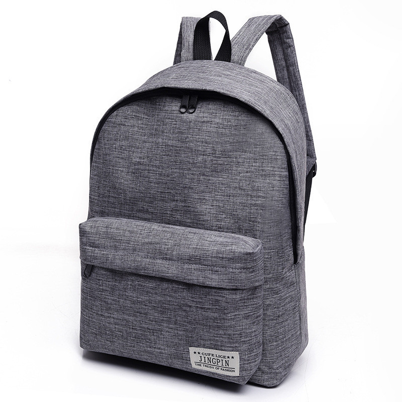 Brand Canvas Men Women Backpack College Students High Middle School Bags For Teenager Boy Girls Laptop Travel Backpacks