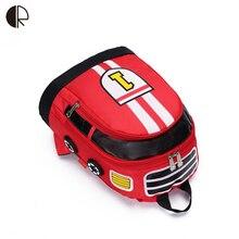 New Children School Bags Cartoon Car Backpack Baby Toddler kids Book Bag Kindergarten Rucksacks