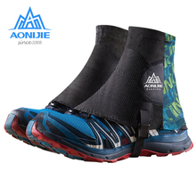Shoe-Covers AONIJIE Marathon High-Running-Trail Gaiters Protective Hiking Outdoor