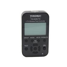 Yongnuo yn-622n-tx yn622n-tx yn 622n tx i-ttl lcd controlador de flash inalámbrico disparador de flash inalámbrico transceptor para nikon dslr