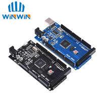 Placa de desarrollo MEGA2560 MEGA 2560 R3 (ATmega2560-16AU CH340G) AVR tarjeta USB