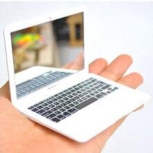 Прозрачное косметический форме салон карман зеркало милый стекло ноутбук моды макияж