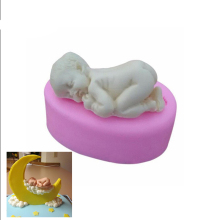 Sleep Baby Silicone Mold Fondant Cake Mold Mould DIY Soap Mold Chocolate Candy Jello Cake Decorating Tools Kitchen Accessories