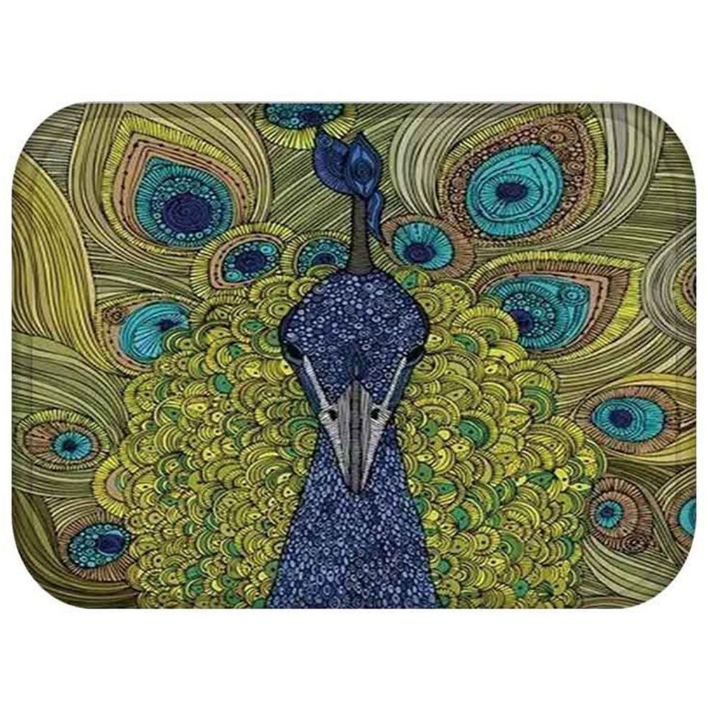 Peacock bathroom rug - Practical Boutique Peacock Mat Bath Rug Non Slip Living Room Soft Carpet Foot Pad 40x60cm
