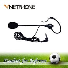 2017 cascos pará moto ktm capacete de futebol árbitro gancho fone de ouvido fone de ouvido mono para a arbitragem e para o treinador (vnetphone)