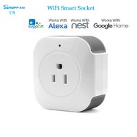 Sonoff S30 Wifi Smart Socket Plug Smart Home Remote Control Timing Switch 15A 110 125v Power