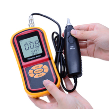 Cheapest prices Free Shipping GM63B Digital displacement/velocity/acceleration measurement Vibrometer Vibration Meter+Temperature Meter