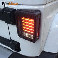 LED Tail Light For jeep Wrangler JK Brake / Reverse / Turn Signal Lamp Back Up Rear Parking Stop Light Daytime Running DRL Light
