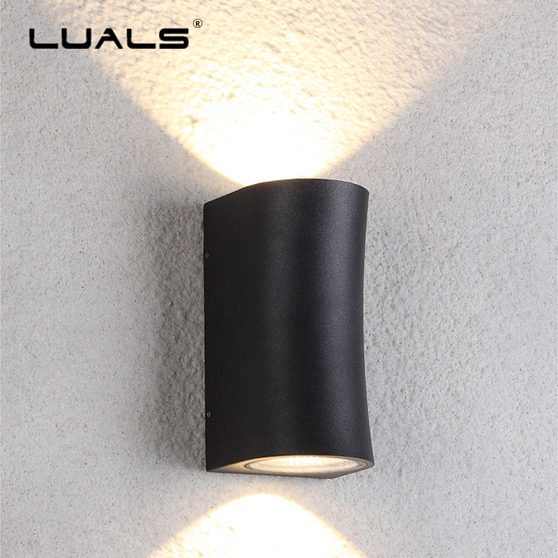 Outdoor Waterproof Wall Lamp Simple Aluminum Modern Wall Light Luxury Villa Art Wall Lamps LED Lights Courtyard Aisle Lighting outdoor wall lights simple modern wall light waterproof led wall lamp luxury villa aluminum wall lamps hallway art deco lighting
