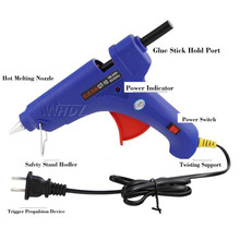 100W PDR Dent Removal Tools Car Paintless Dent Repair Glue Gun used for 11mm glue stick with 1pc EU Plug as gift цена