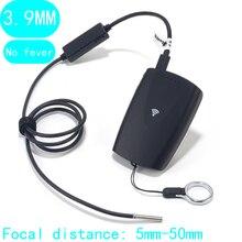 Cámara endoscópica de 3,9 MM cerca de la distancia focal oído nariz Wifi endoscopio 4LED Cámara inspección endoscopio luz Led impermeable IP67 IOS