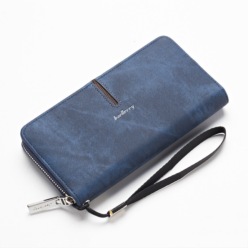 Wallet Men Coin Purses Mens Long Zipper Wallets Luxury Designer Male Card Holder Purses Multi-Card Bit High Quality Clutch Bag