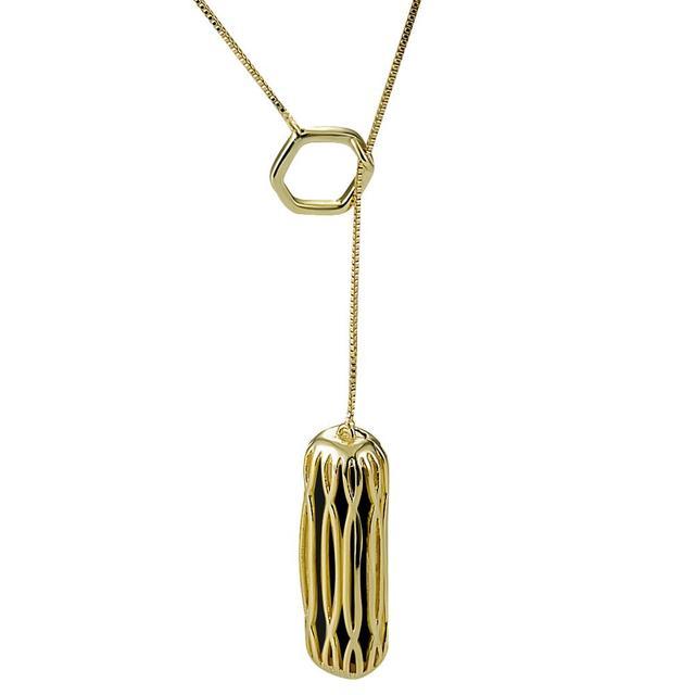 Pendant For Fitbit Flex 2 Necklace,Accessory Chain Necklace for Fitbit Flex 2,Fashion Steel Design Gold Color