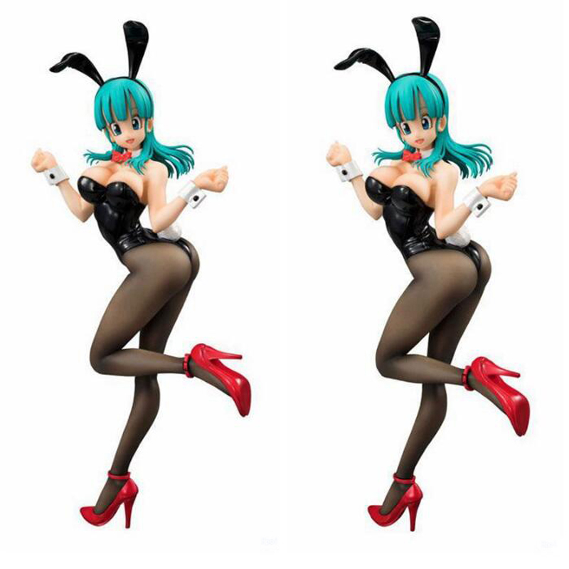 <font><b>Dragon</b></font> <font><b>Ball</b></font> cartoon <font><b>figure</b></font> doll rabbit Girl <font><b>sexy</b></font> Buruma adult collection action <font><b>figure</b></font> anime peripheral 19cm decoration Y7358 image