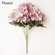 1pc Wedding Artificial Hydrangea Flower Home Party Birthday Floral Decor