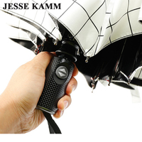 JESSEKAMM Fully Automatic Auto Open Auto Close Strong High Quality Windproof For Women Men Rain Umbrellas